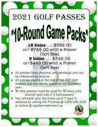10-Round Game Packs - NOW Available